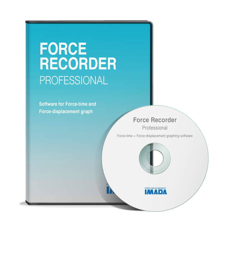 Force Recorder Pro Graphing Software