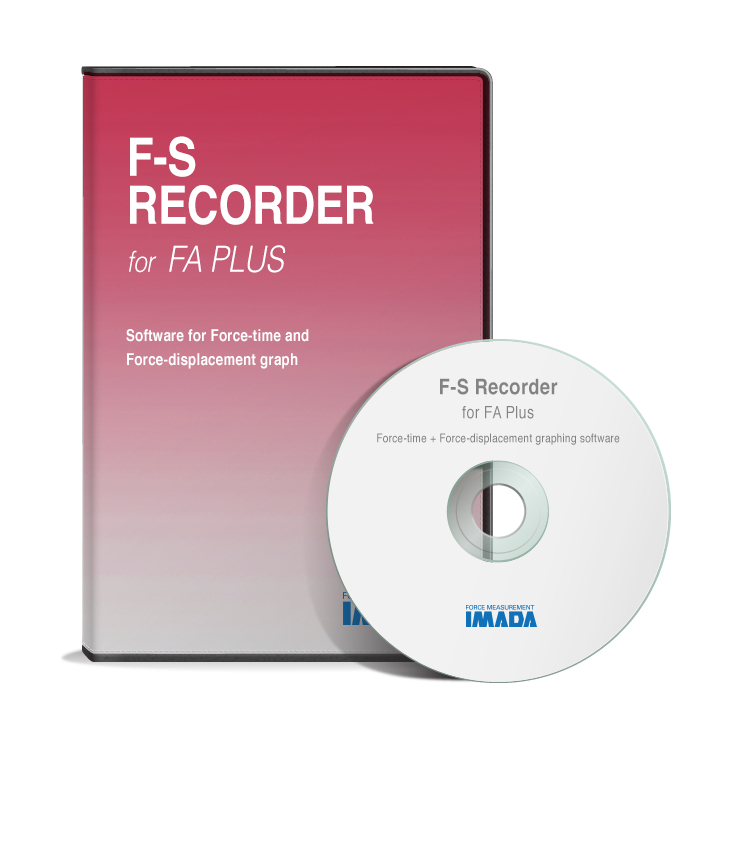 Force-Displacement Graphing Software F-S Recorder