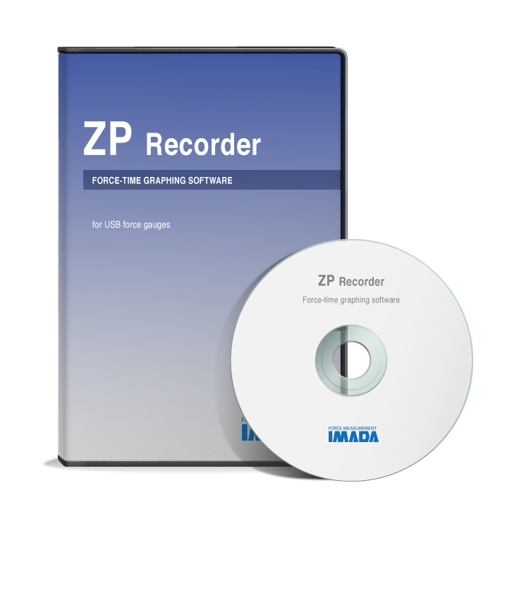 ZP Recorder Graphing Software via USB