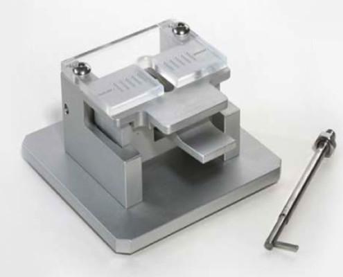 Dispositivo per testare l'estensibilità della pasta glutinata